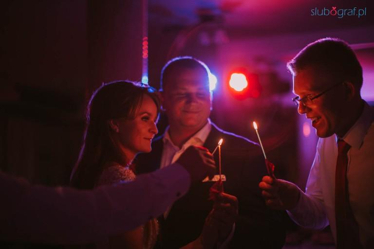 Taniec świetlisty Katarzyna i Marcin 1